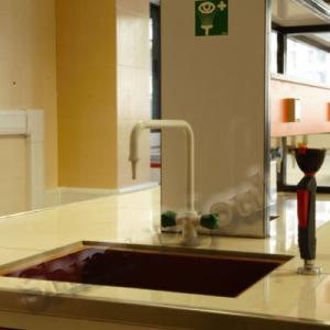 میز شستشوی آزمایشگاهی